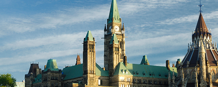 Image of Canadian Parliament Buildings