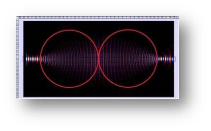 Image of Metamaterial Luneburg Lens (Si)