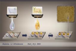 Image de l'imprimerie réactive des nanoparticules fonctionnelles
