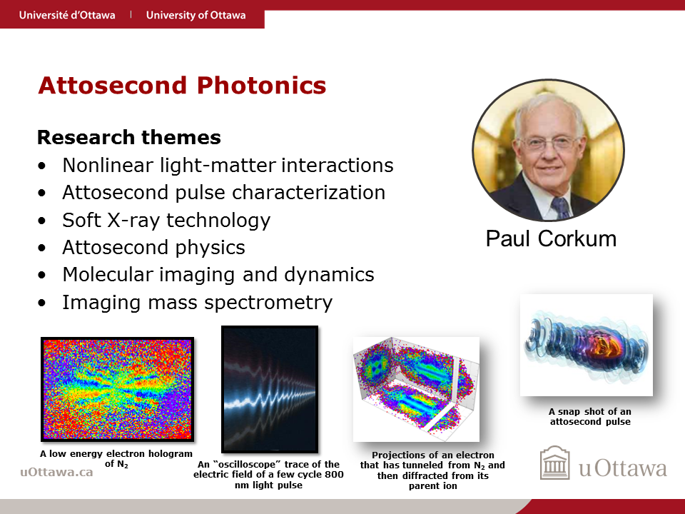 Paul Corkum: Attosecond Photonics