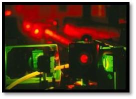 Image d'un laser