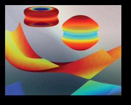 Image des formes coloriées variées qui illustre les dynamiques moléculaires-électroniques ultrarapides